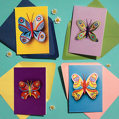 Butterfly Box Set Greeting Cards