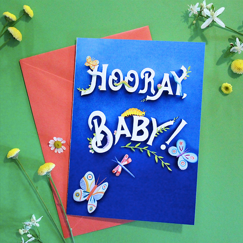Hooray, Baby! Greeting Card