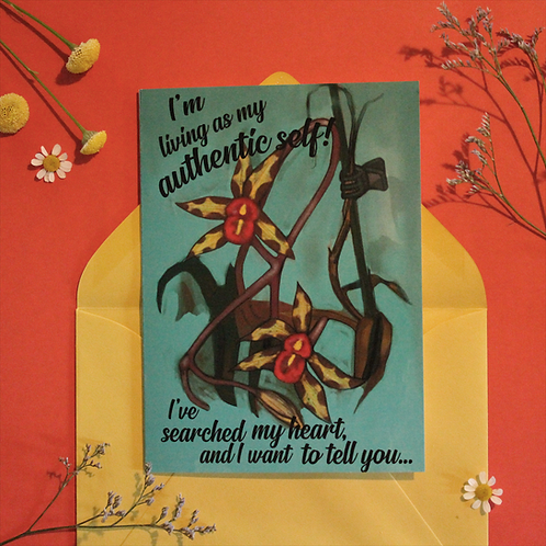Authentic Life Greeting Card