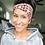 Thumbnail: Red, Black and Cream Plaid Headband