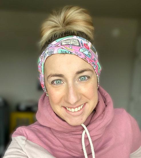 Pink Teacher Headband