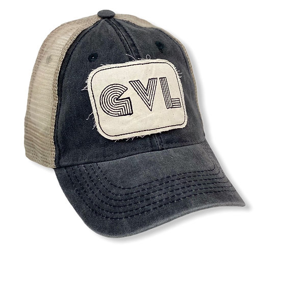 Greeneville Black And Tan Trucker Hat