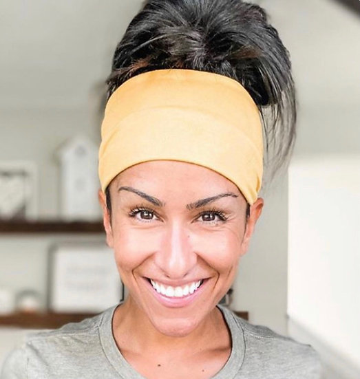 Solid Mustard Yellow Headband