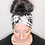Thumbnail: Black and White Buffalo Plaid Headband