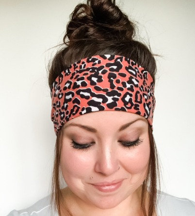 Sahara Sunset Animal Print Headband