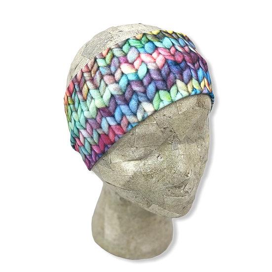 Yarn Knit Crochet Headband