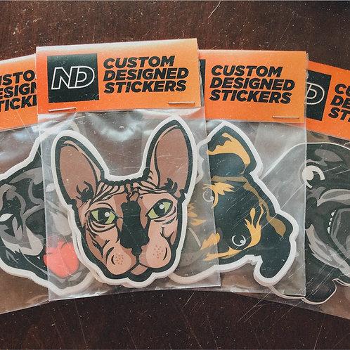Custom Sticker Design Package