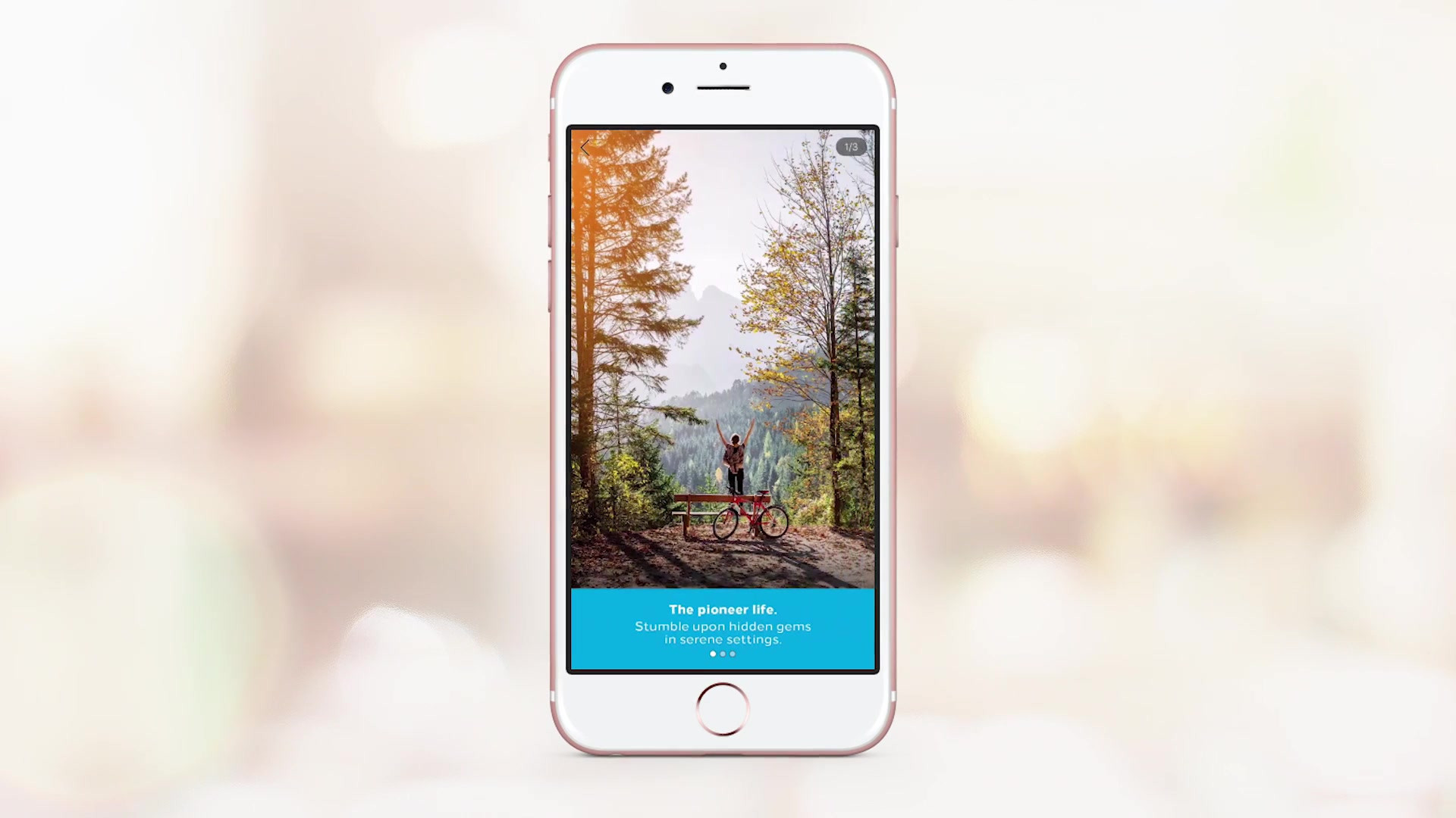 Facebook Canvas experience that takes folks through a weekend of possibilities.