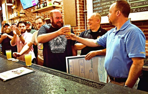 'York City Six' brew special IPA to benefits veterans