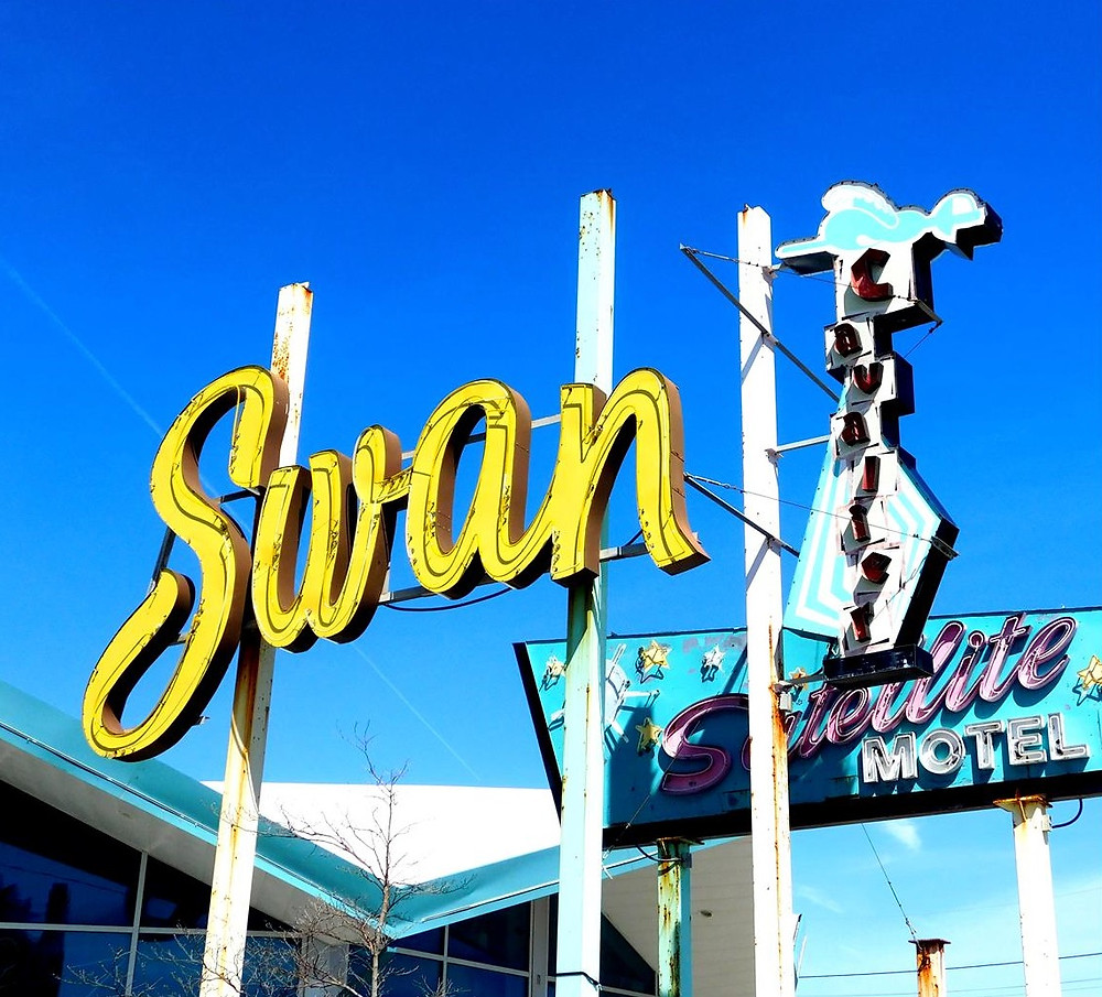 Wildwood's Doo-Wop Hotel signs