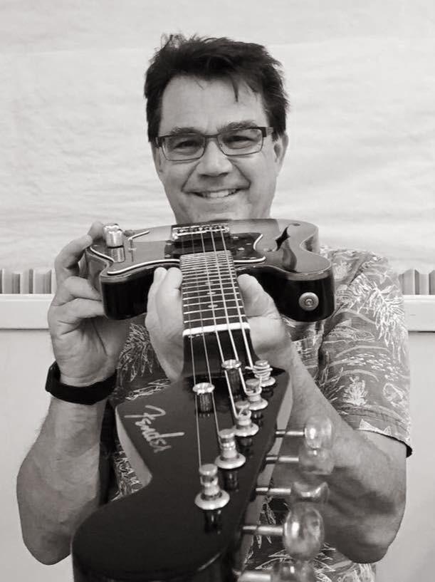 Ernie and his mandolin