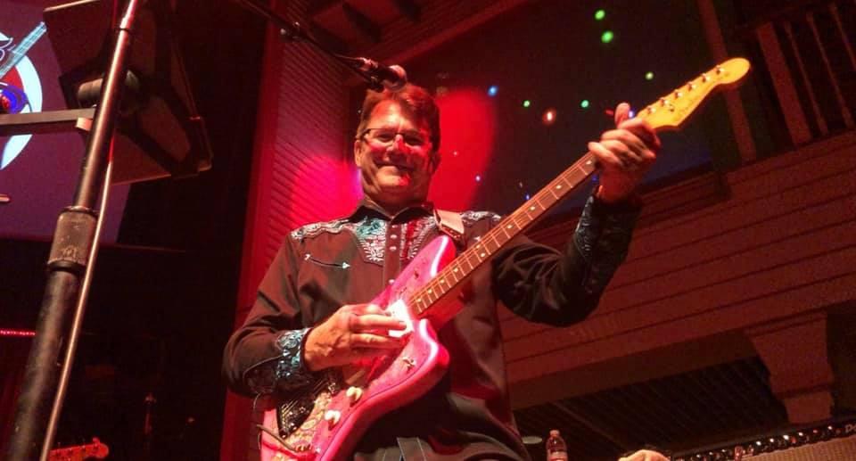 Ernie Lewis performing at Buck Owens' Crystal Palace