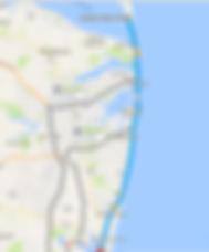 Map of Ocean Boulevard Roye 36 South