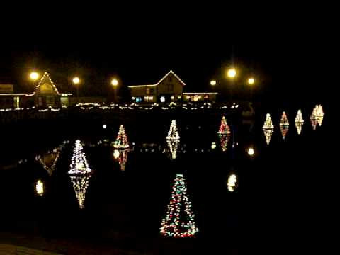 The Floating Christmas Trees in Smithville