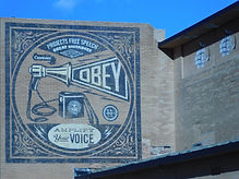 Mural by Obey The Art of Asbury Park