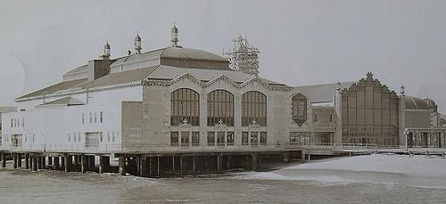Christian Monotone Photo of the Casino in Asbury