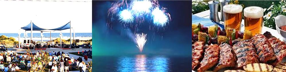 Food festivals, concerts, fireworks and more!