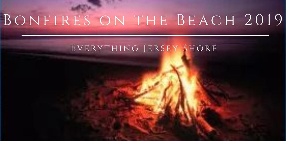 Bonfires on the Beach in Asbury Park