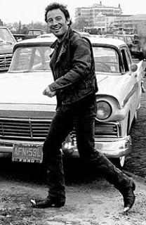 Bruce Springsteen in Asbury Park.