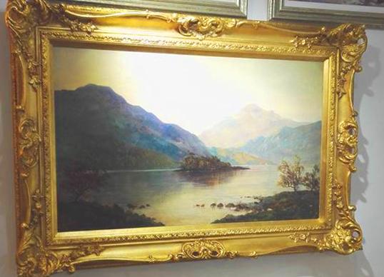 Loch Katrine Painting