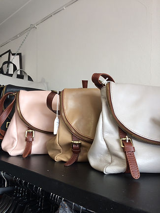Real leather  Italian handbags Top Frock boutique Milton Keynes