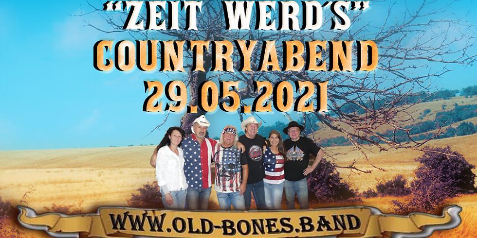 """""""Zeit werd´s"""" - Countryabend mit der Old Bones Band"""