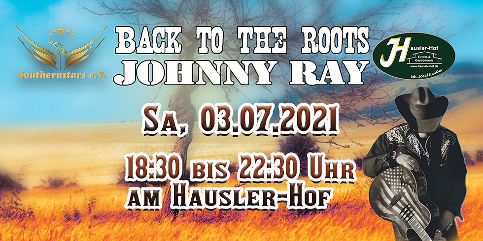 Countryabend mit Johnny Ray
