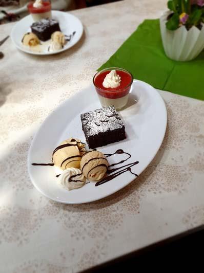 Valentins-Dessertteller