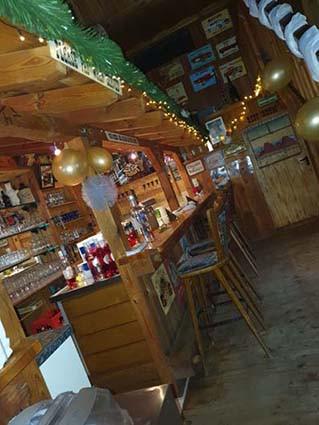Bar im Saloon