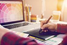 Digital art graphic design adviser consu