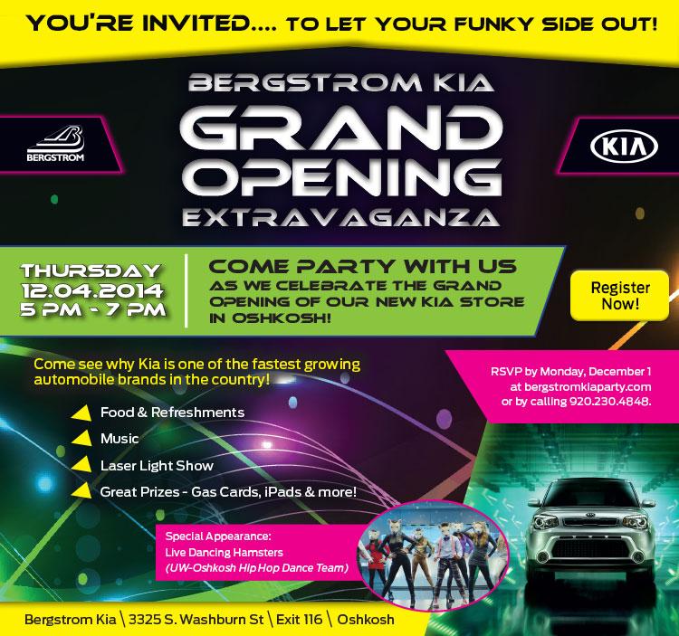Kia Grand Opening Evite