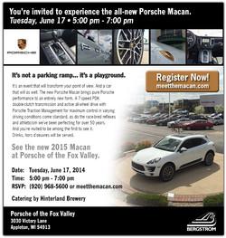 Porsche Macan Evite