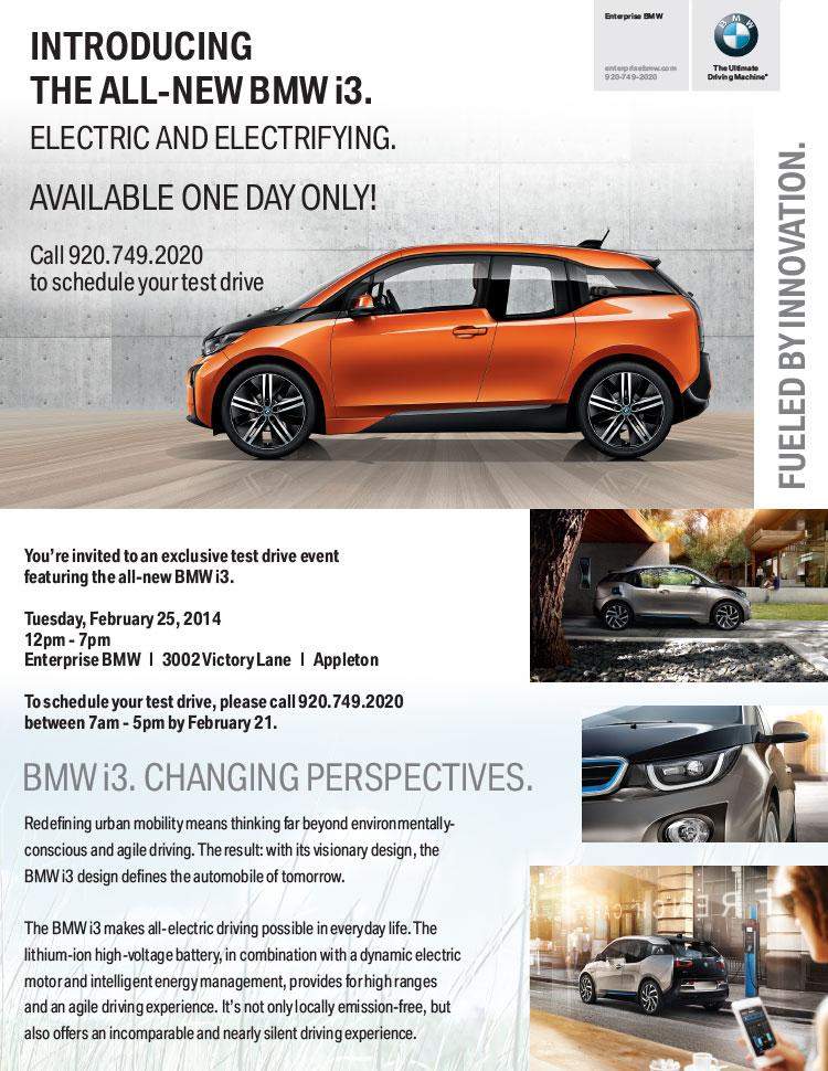 BMW i3Drive Evite