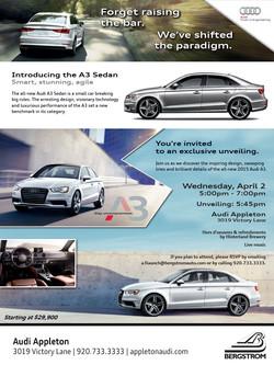 Audi A3 Launch