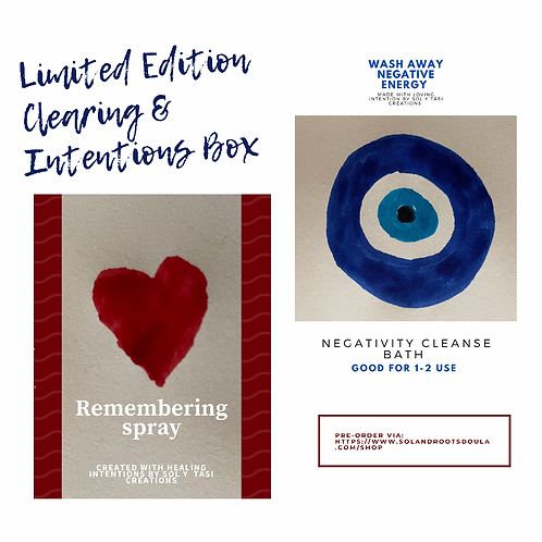 Limited Edition Clearing & Intentions Box