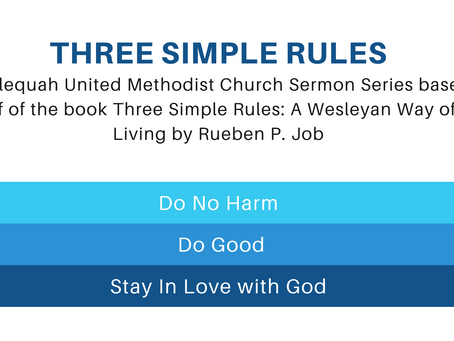 Staying In Love with God Adult and Children's Lessons