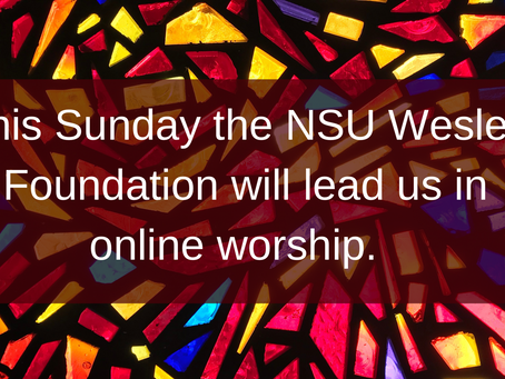 Worship Info for 4.11.21