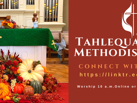 Worship Info for 10.25.2020