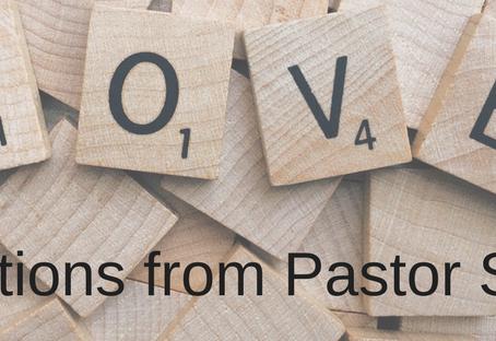 Pastor Shana's February Reflection