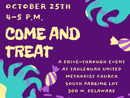 Come And Treat October 25th