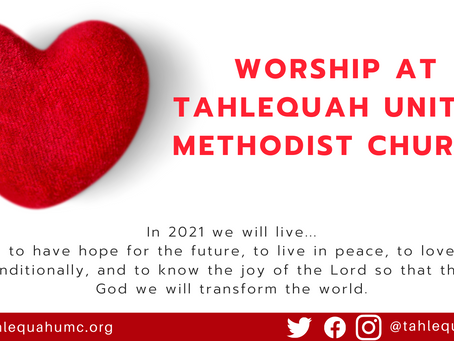 Worship Info for 2.14.2021