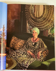 Designer Adriana Bittencourt em sua casa, o RIAD NOUR.