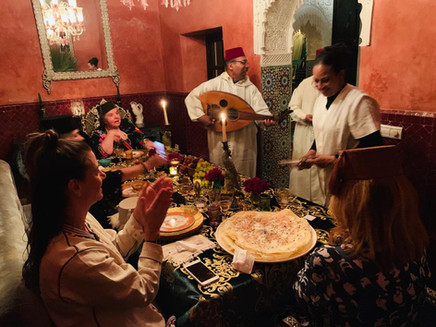 Oriental dinner celebration