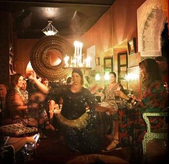 Oriental dinner party