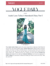 Vogue US by Andre Leon Talley