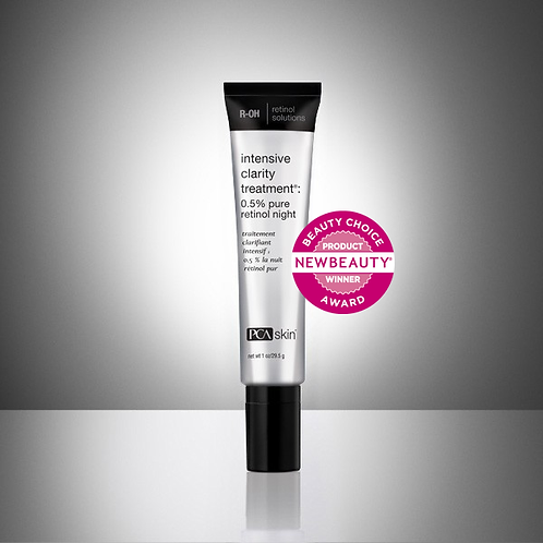 Intensive Clarity Treatment®: 0.5% pure retinol night