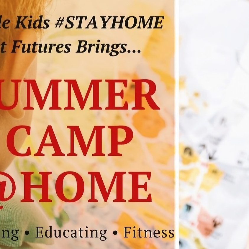 E-Summer Camp for Kids @ Home