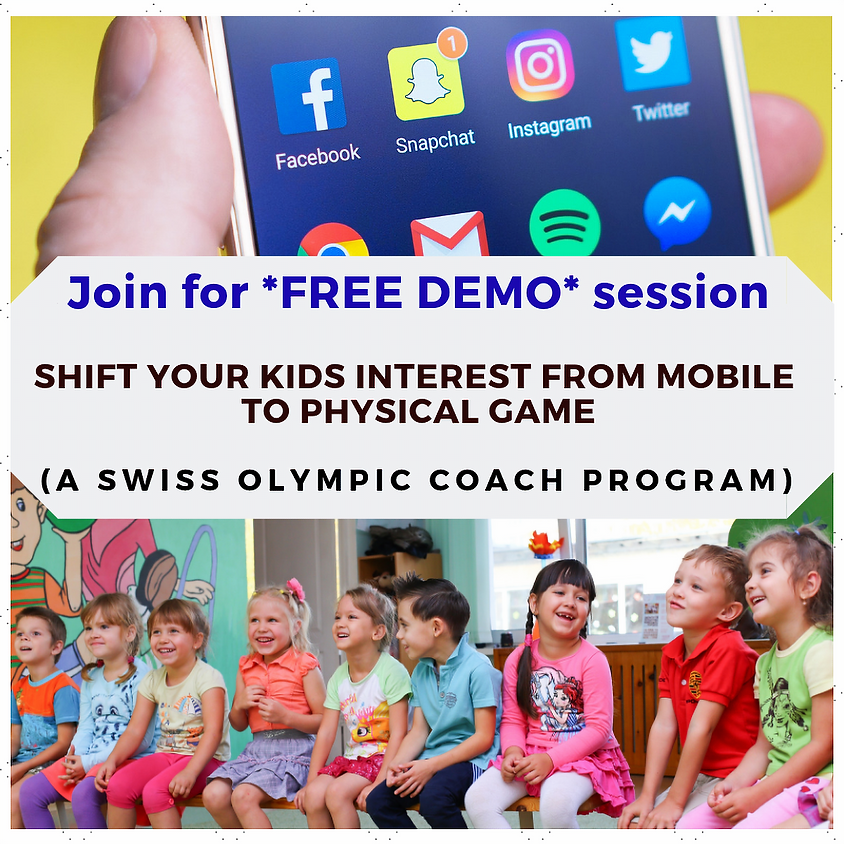 Shift your kids interest from mobile to physical game?