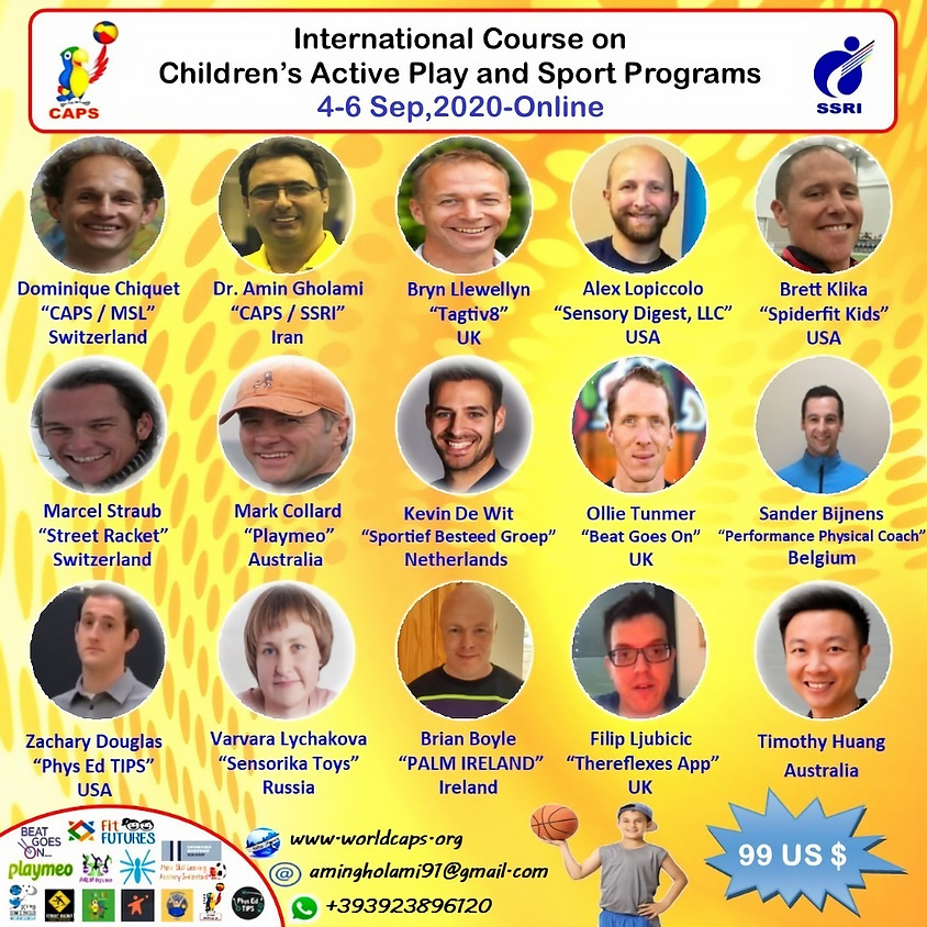 International Online Course on Children's Active Play and Sport Programs