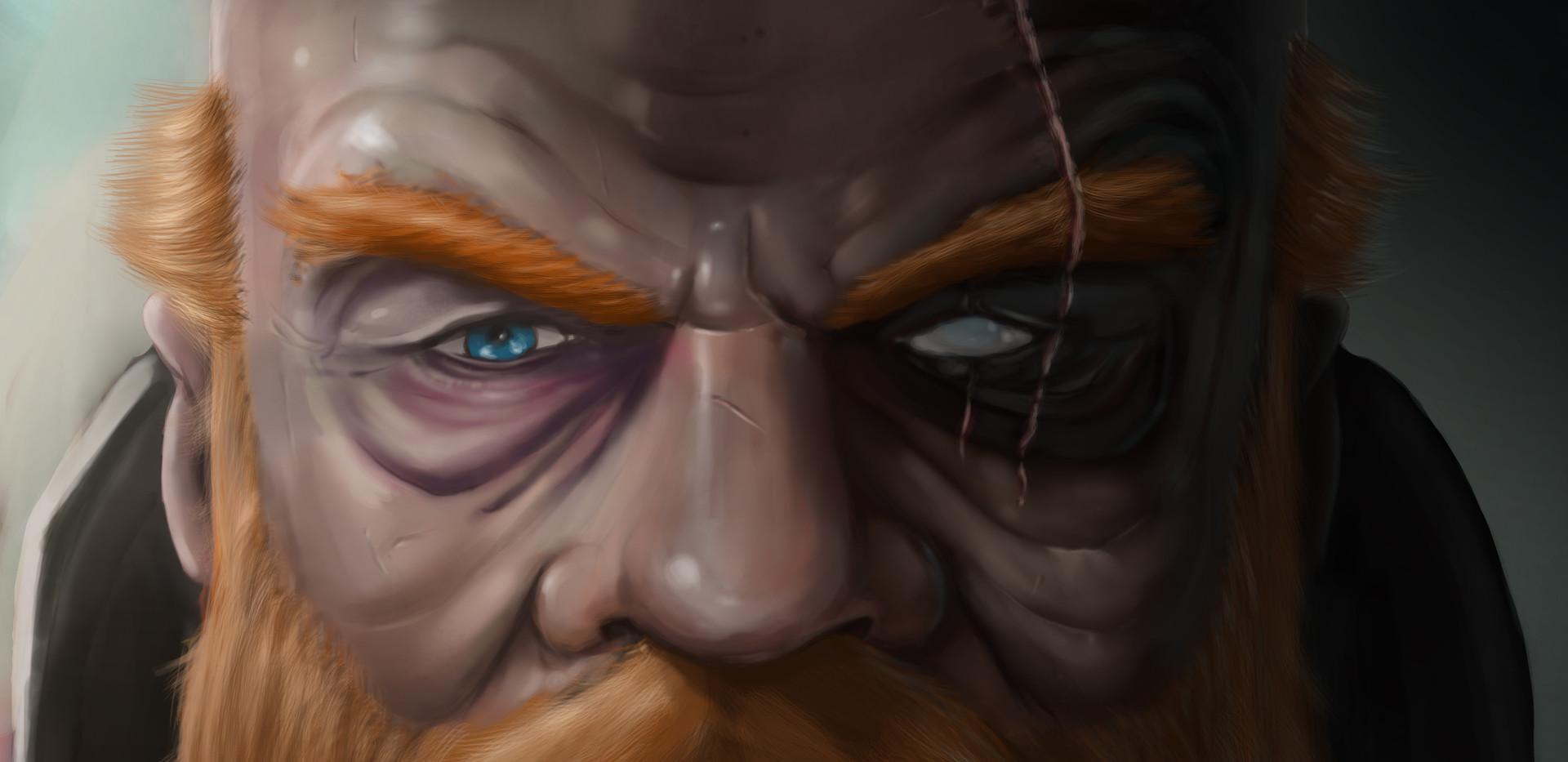 Dwarf Face Portrait